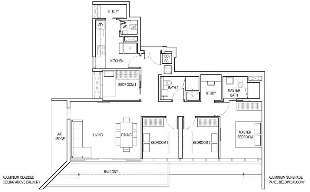 Amber Park Condo Floor Plan 65 6100 0721 Singapore